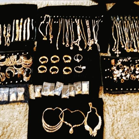 Necklaces, Bracelets, Rings, Earrings